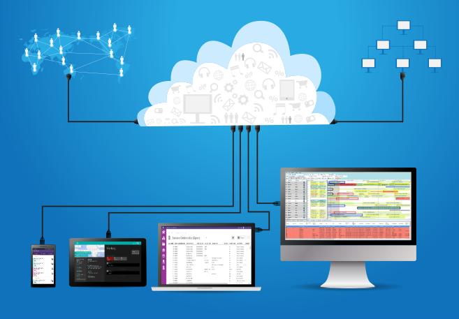 Service Management software integration
